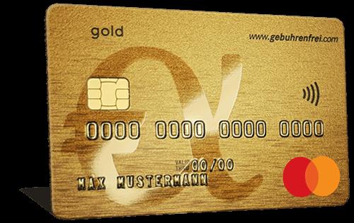 Gebührenfrei Mastercard Gold - Bezahlen.de